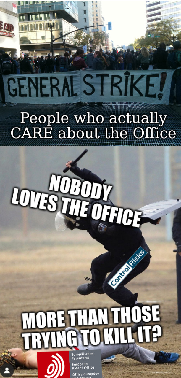 People who actually CARE about the Office; Nobody loves the office more than those trying to kill it?