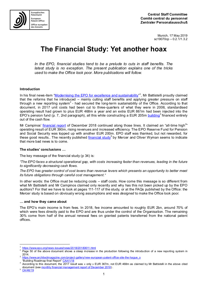 EPO hoax study part 1 page 1