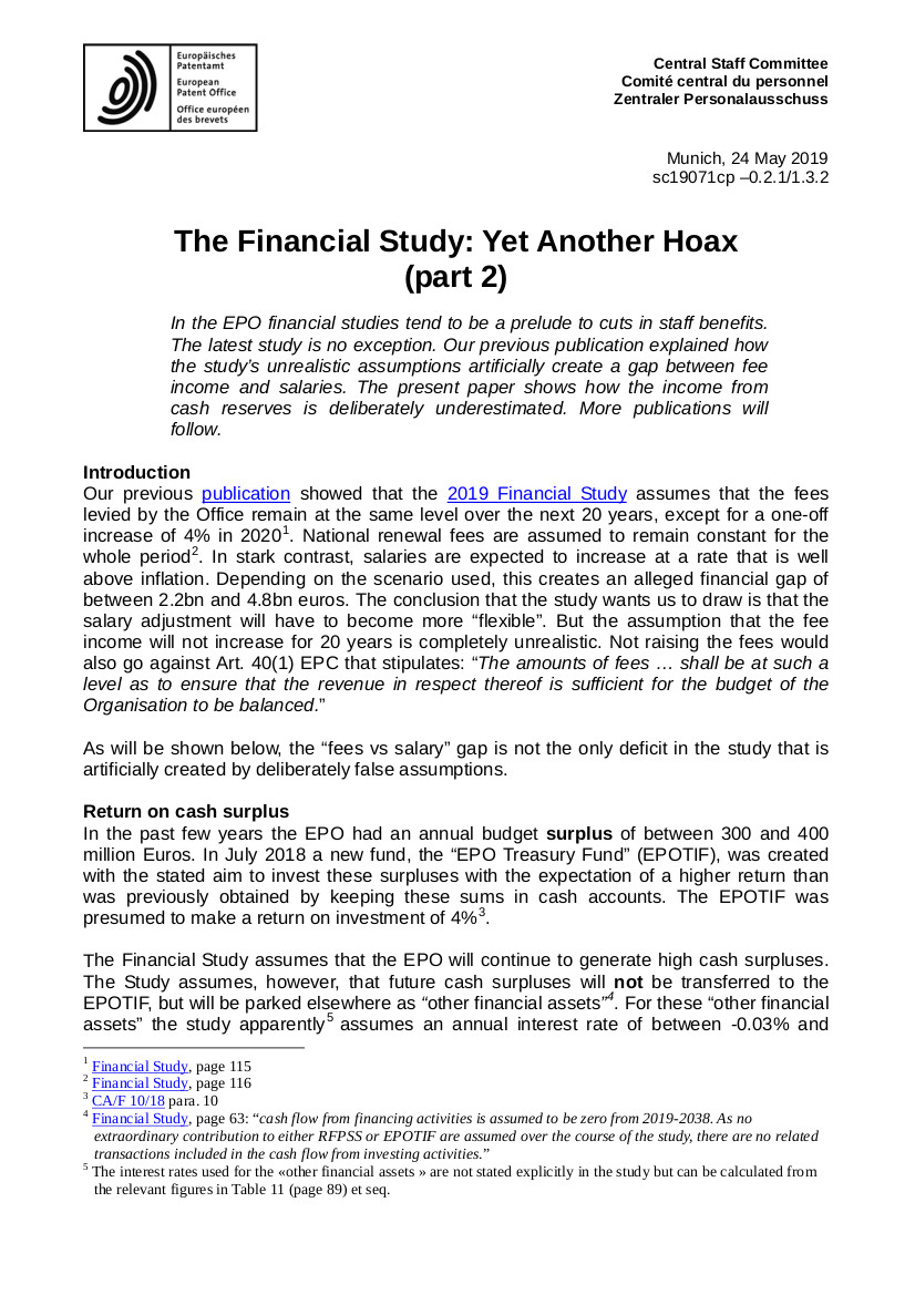 EPO hoax study part 2 page 1