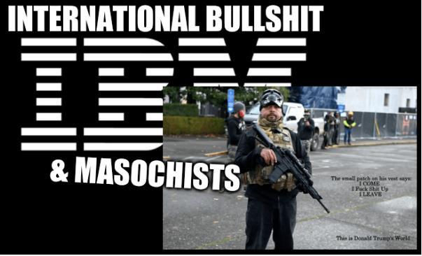 International Bullshit and Masochists