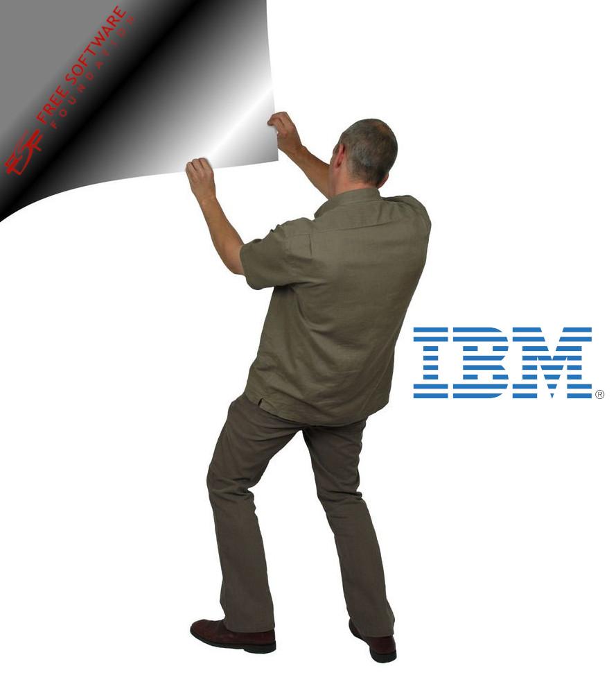 IBM and FSF