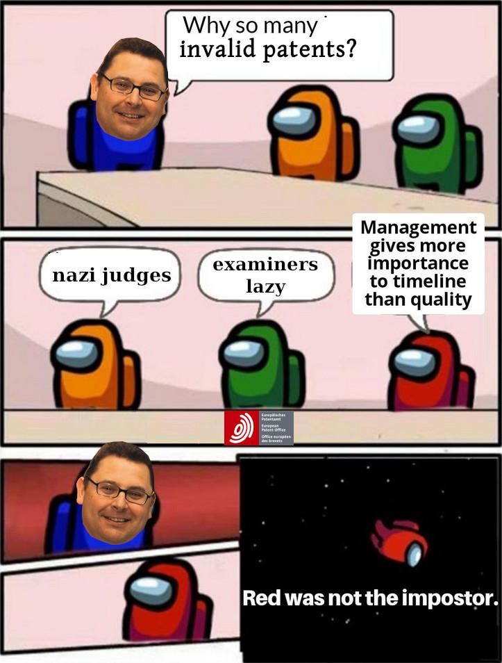 Invalid patents