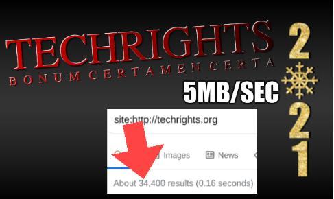 Techrights traffic