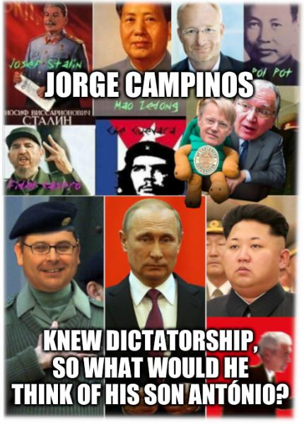 Jorge Campinos knew Dictatorship, so what would he think of his son António?