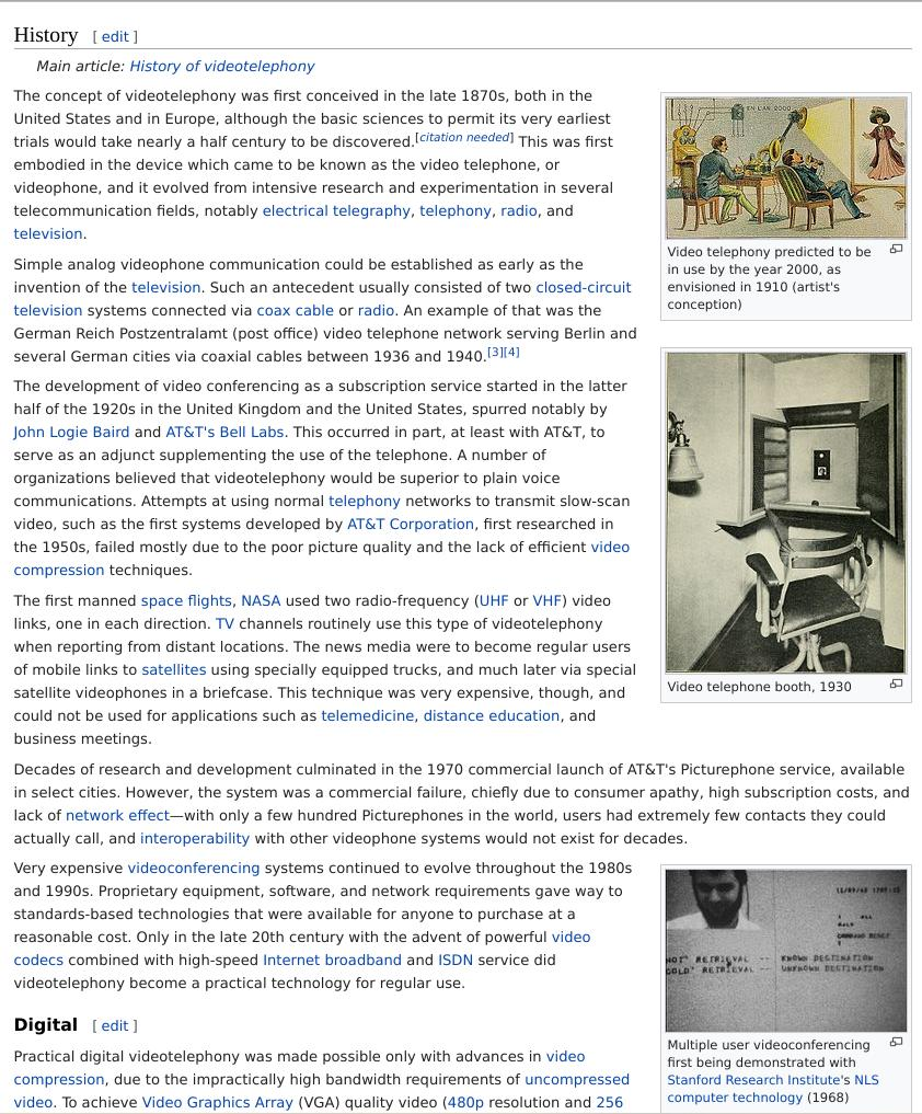 'ViCo' history