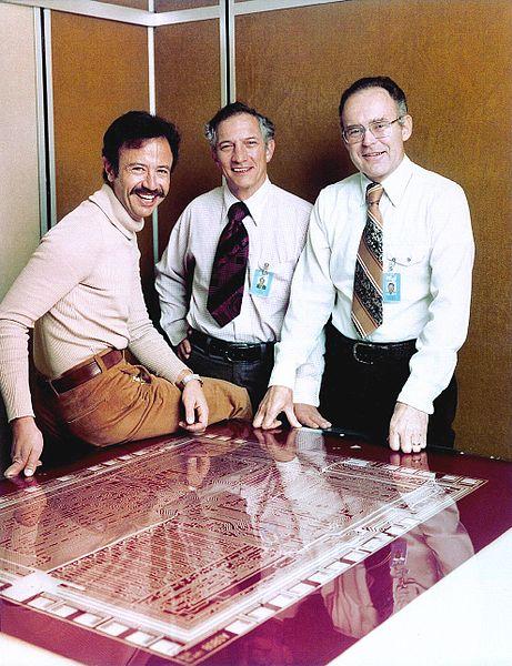 Andy Grove, Robert Noyce, Gordon Moore, 1978