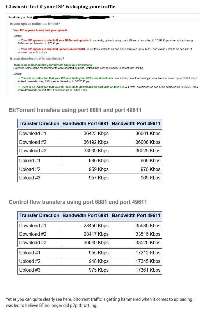 BT throttling example #5