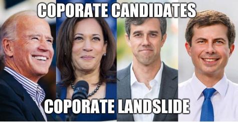 Coporate candidates, Coporate landslide