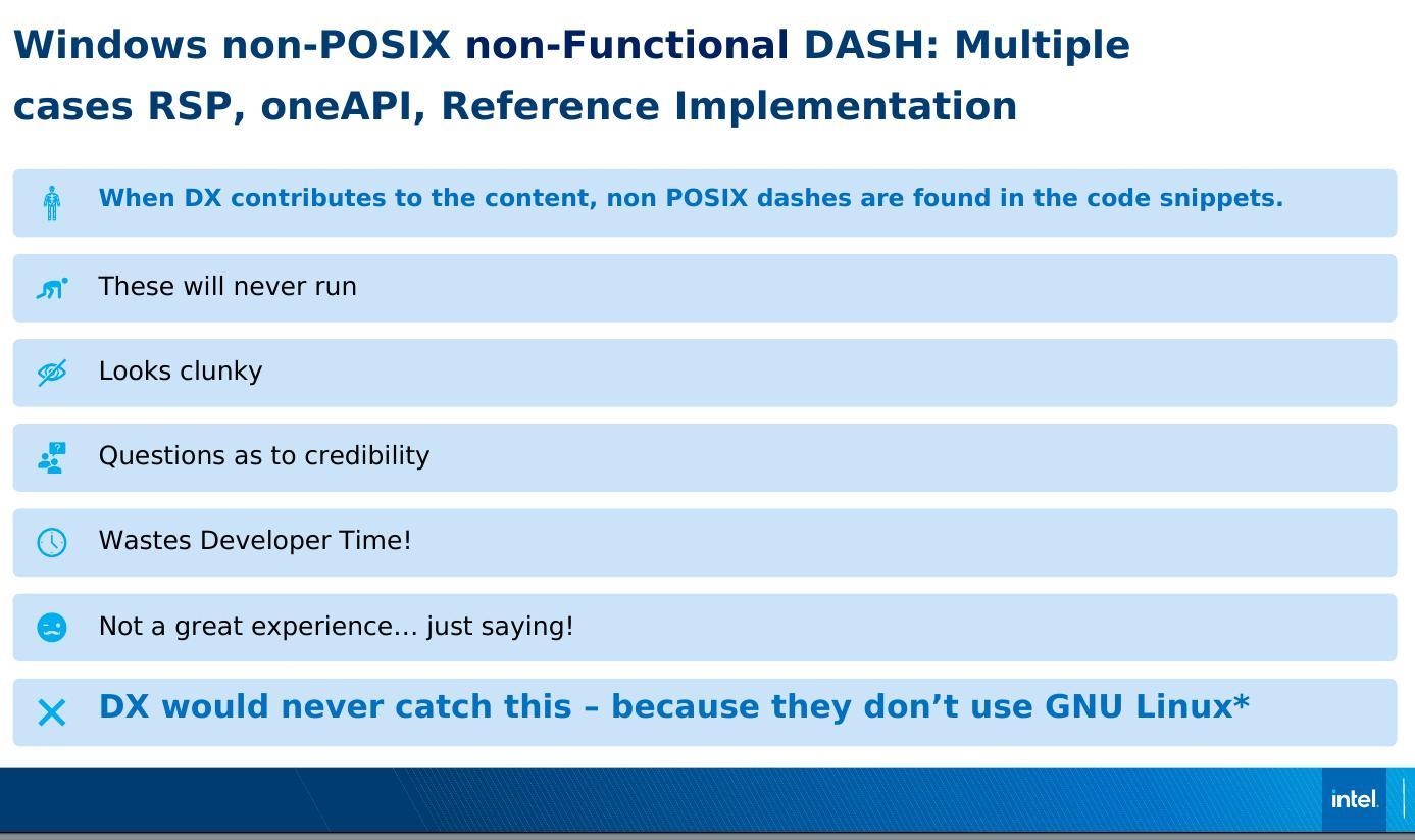 Intel DX mistkaes