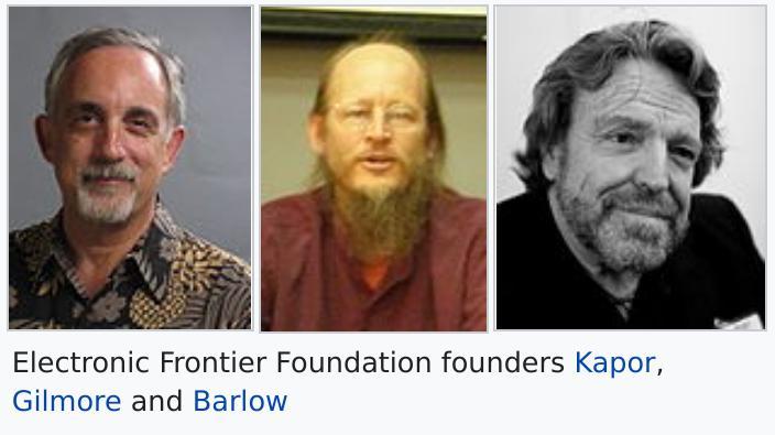 Mitch Kapor and John Gilmore