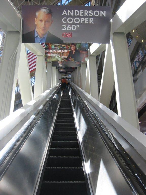 Escalator at the CNN Center