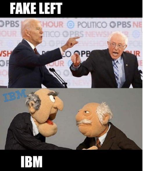 Muppets: Fake left IBM