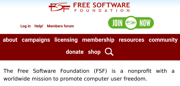 FSF joining