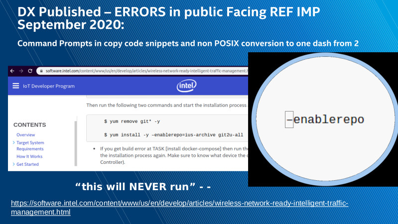 Intel DX slide deck - page #11