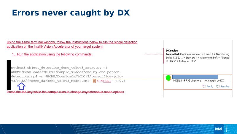 Intel DX slide deck - page #22
