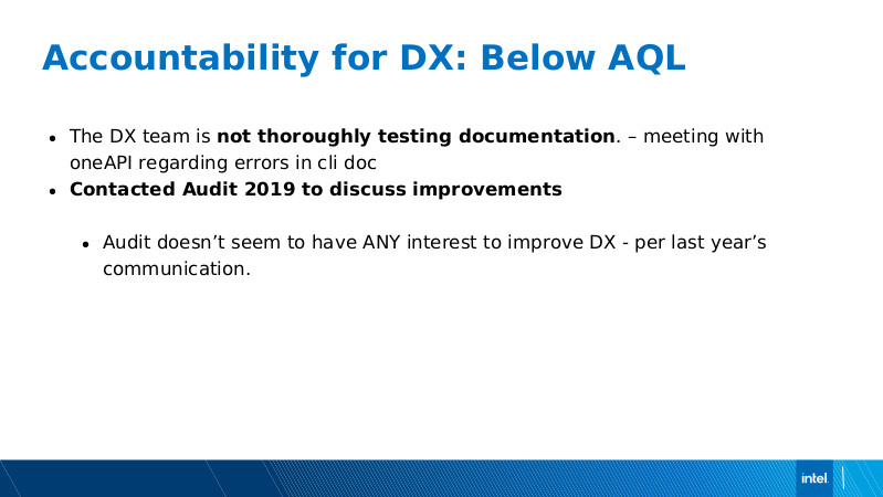 Intel DX slide deck - page #48