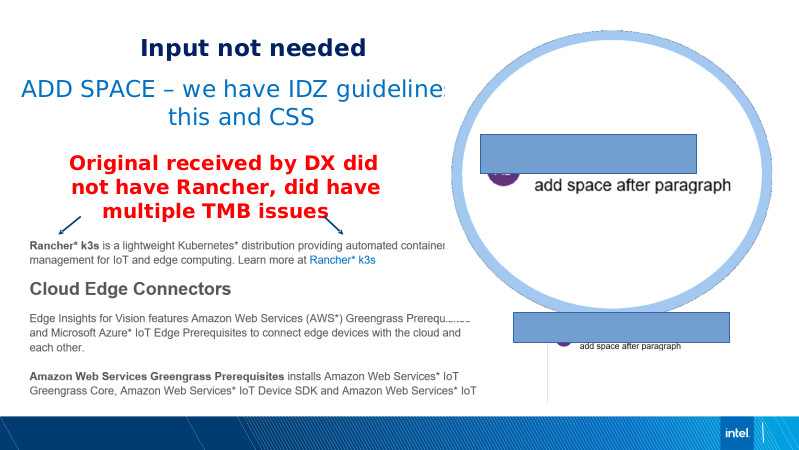 Intel DX slide deck - page #66