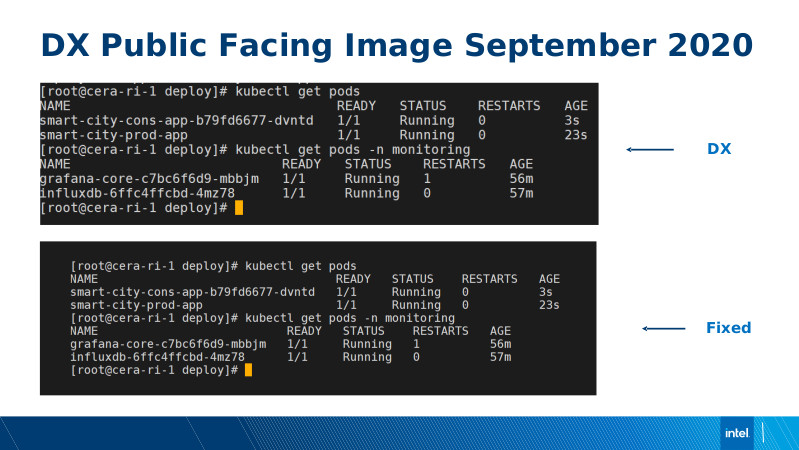 Intel DX slide deck - page #69