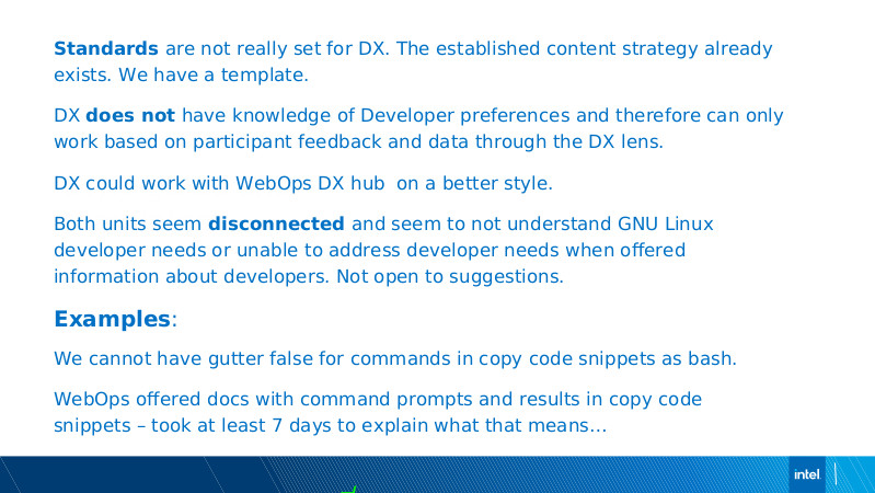 Intel DX slide deck - page #90