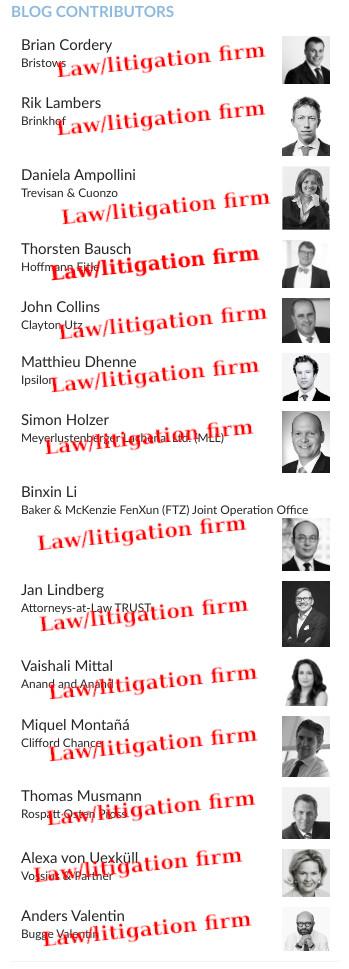 Law/litigation firm