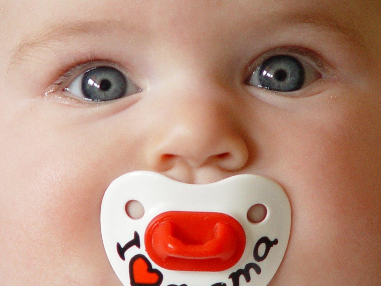 A baby face