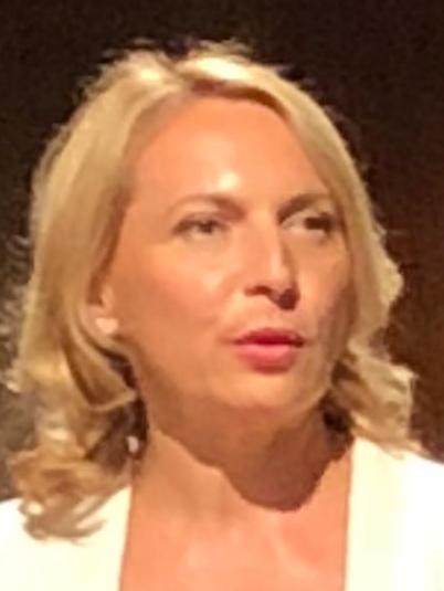 Elodie Bergot's face