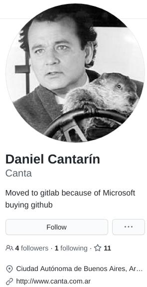 Daniel Cantarin