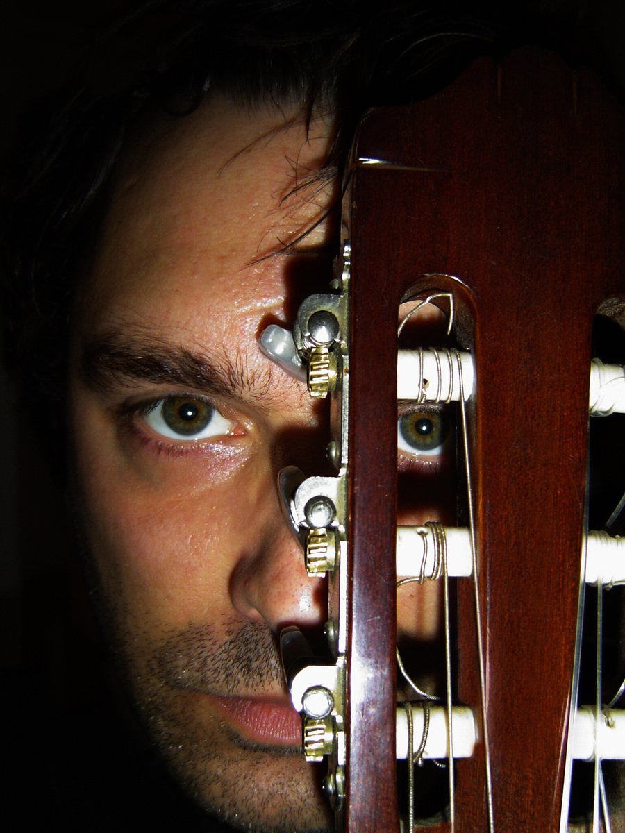 Guitar Eye Portrait - number 2