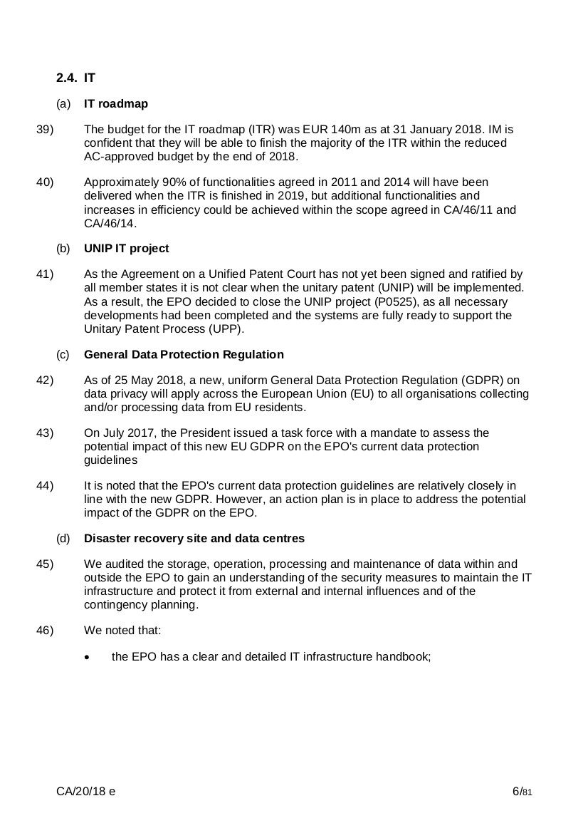 EPO CA-20-18 page 6 of 81