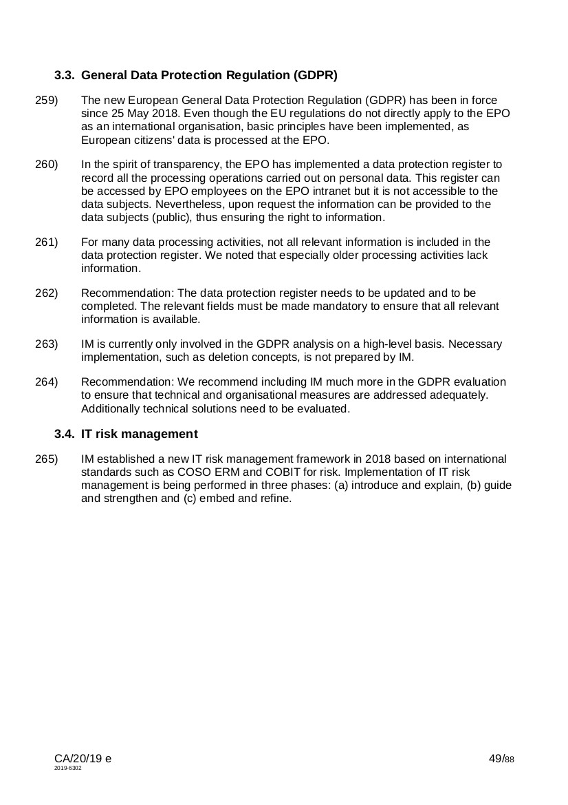 EPO CA-20-19 page 49 of 88