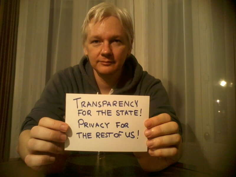Assange on privacy