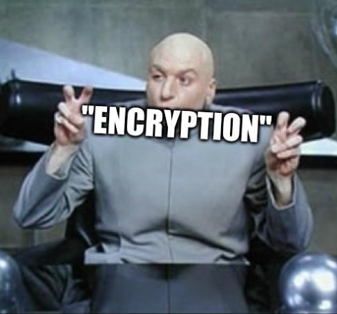 Meme on encryption