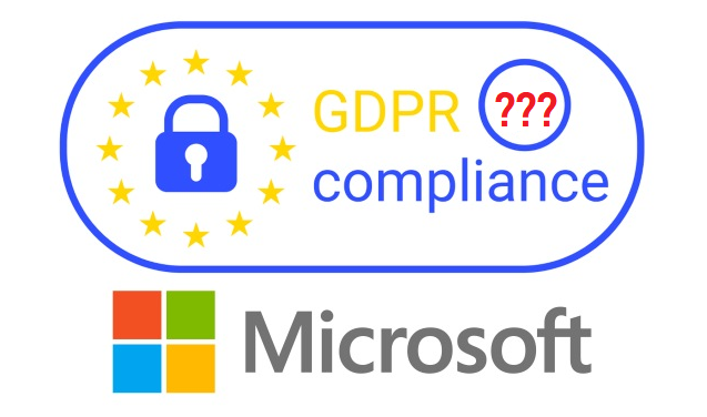 GDPR and Microsoft
