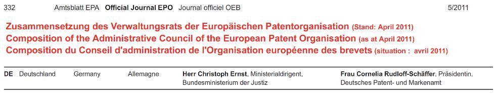 11-EPO-OJ-2011: Ernst AC