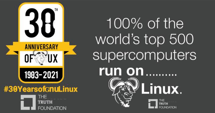 GNU/Linux turns 38