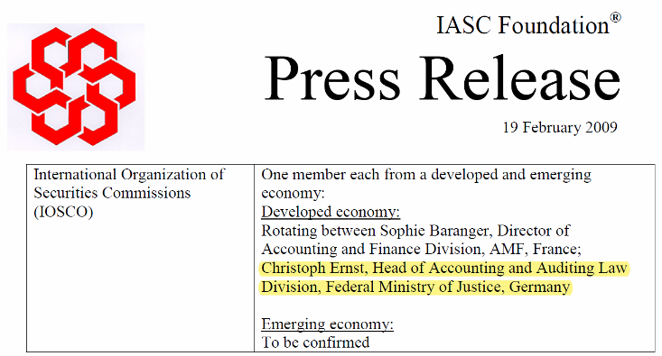 Dr Christoph Ernst at IASC