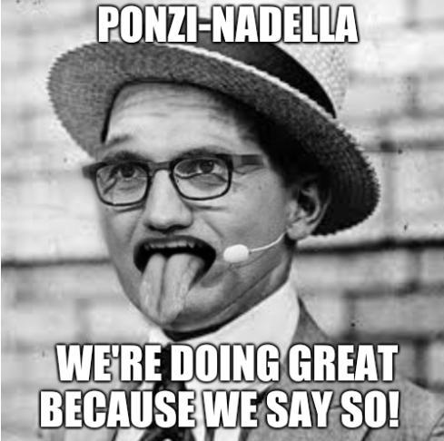 Ponzi-Nadella: We're doing great because we say so!