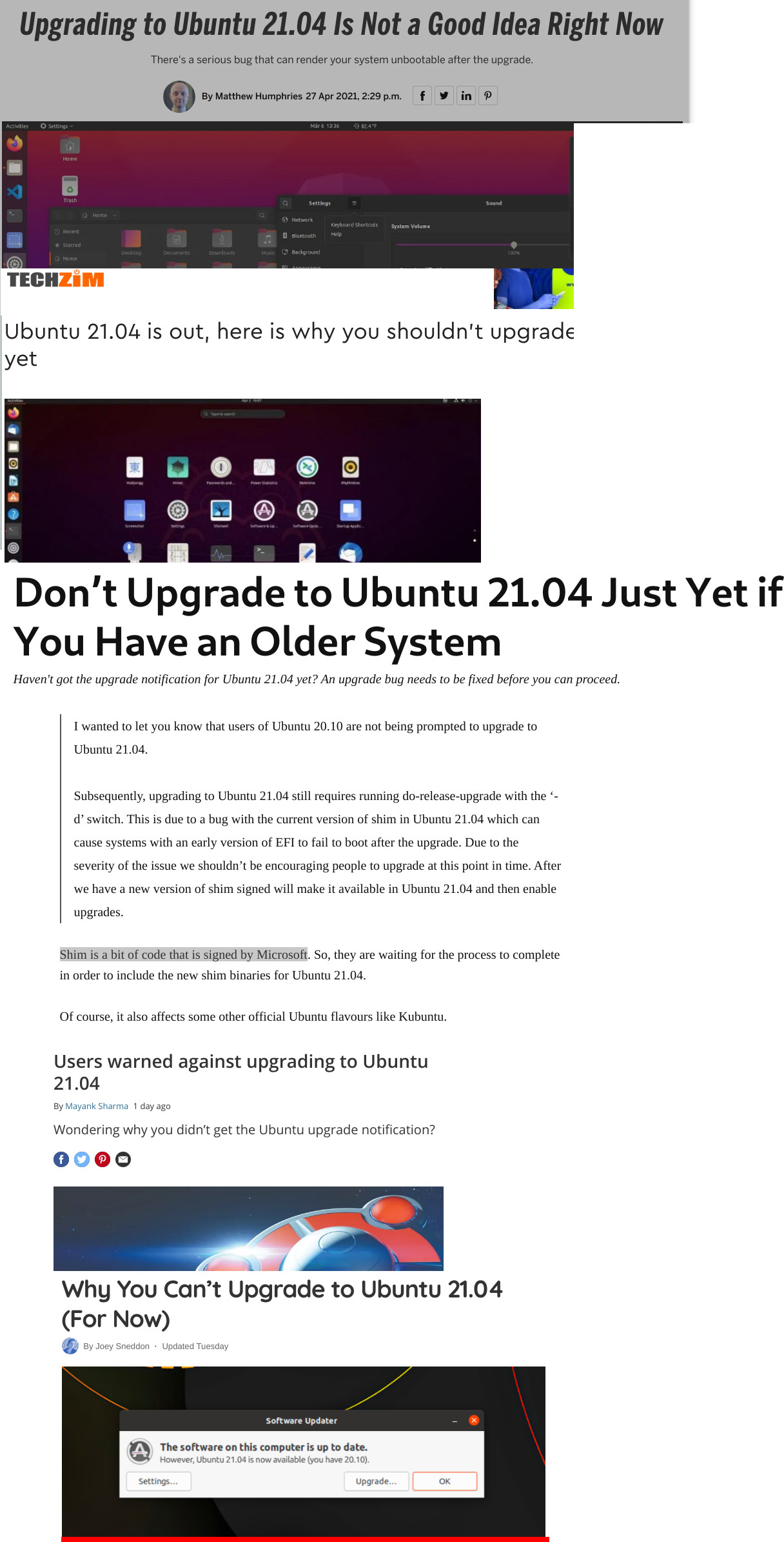 You cannot upgrade Ubuntu