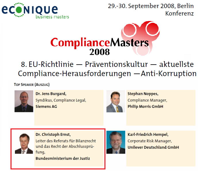 The compliance masters