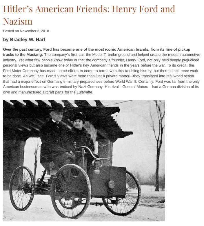 Ford and Nazism