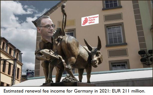 Maas wants money