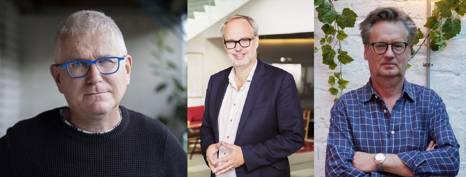 Per Wirtén, Andreas Miller and Alf Håkan Bengtsson