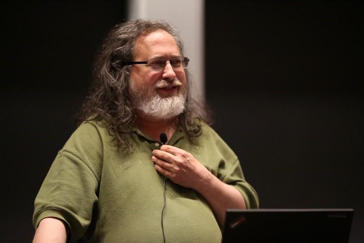 Richard Stallman in 2018