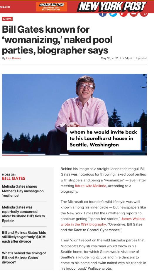 Bill Gates nude