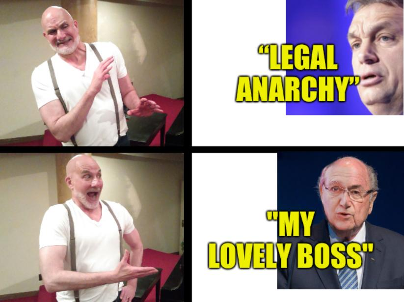 """Calle anarchy: """"Legal Anarchy""""... """"My lovely boss"""""""