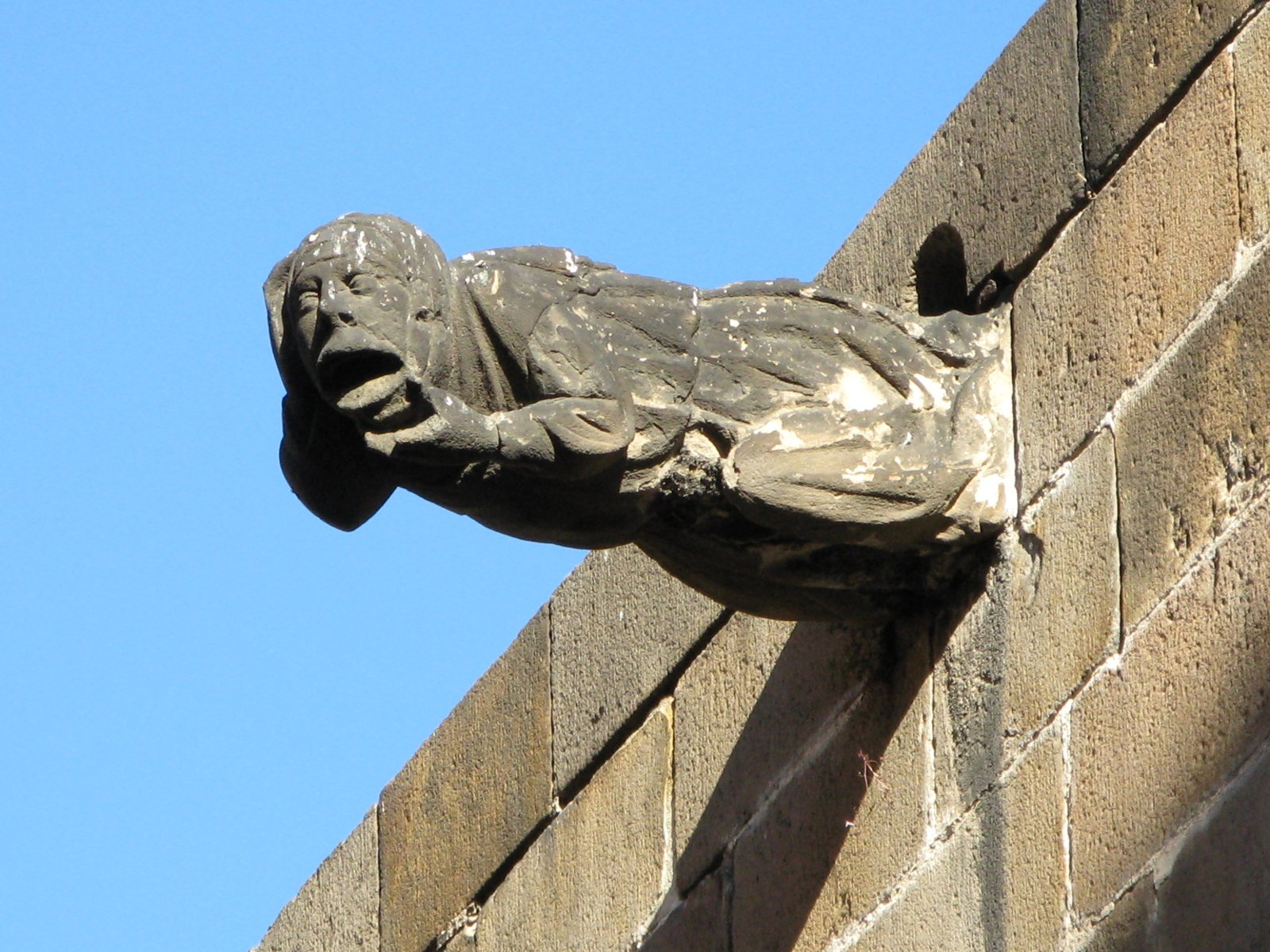 Gargoyle in Barcelona Cathedral