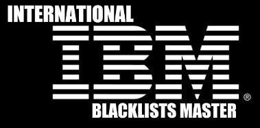 International blacklists master