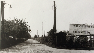Refugee camp no. 65 near Linz which housed many Danube Swabians in 1945.