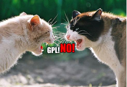 No GPL