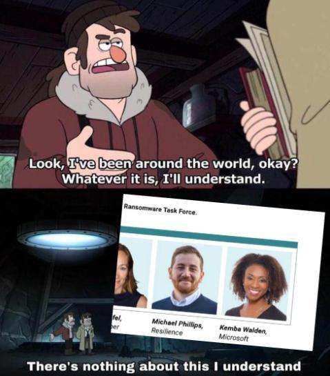 A ransom meme